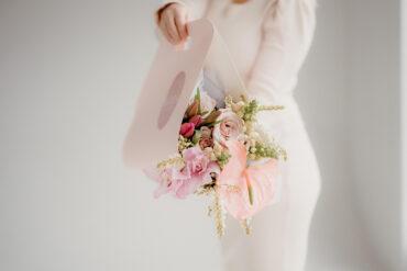 Blush flowers